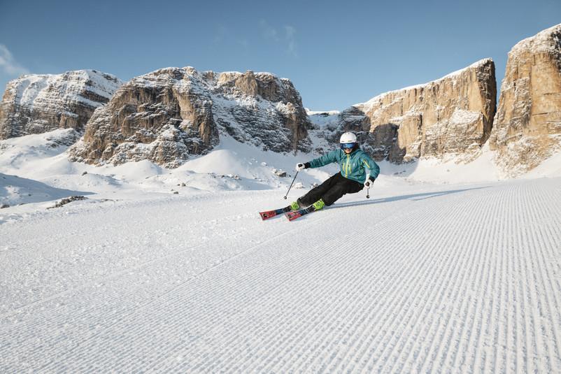 Sciare in Val Badia