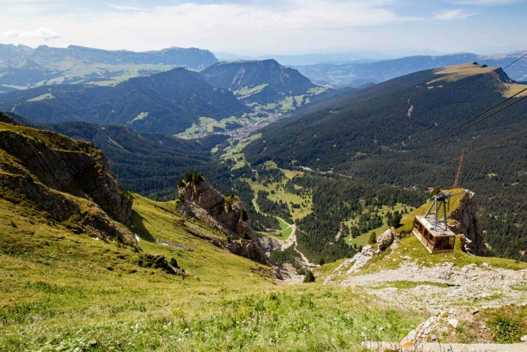 Panoramica estiva sulla Val Gardena