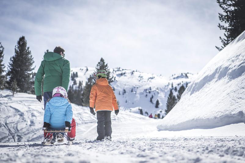 Attività invernali in Val Pusteria