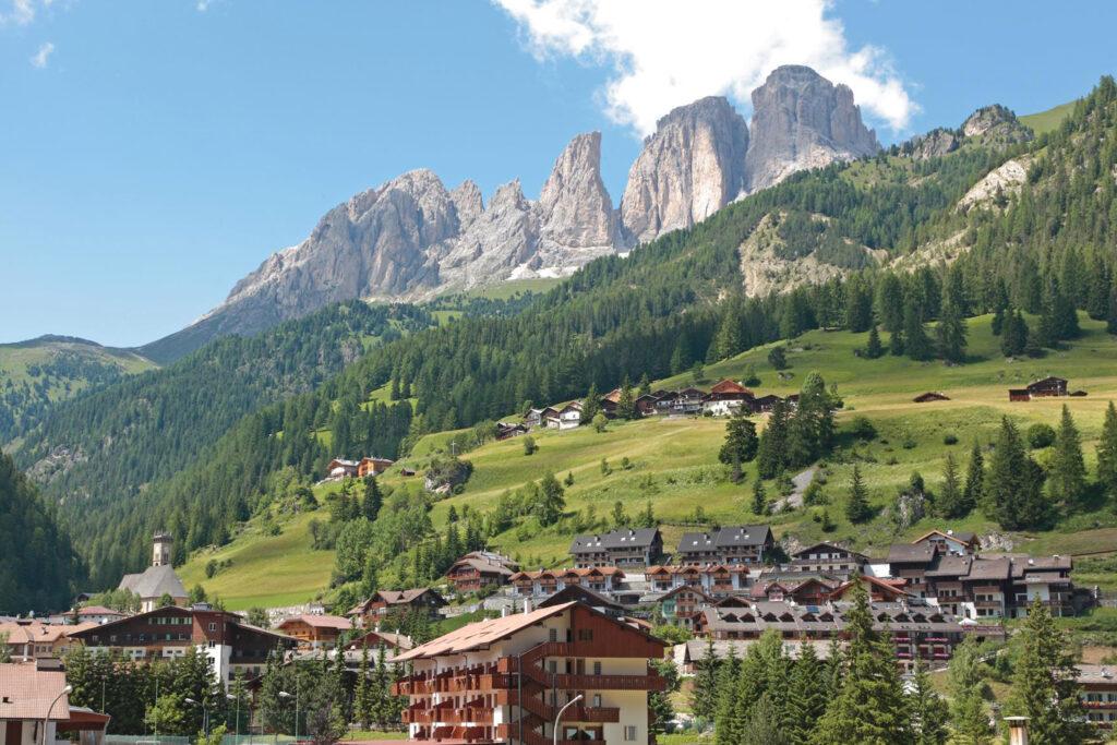Campitello di Fassa in Val di Fassa