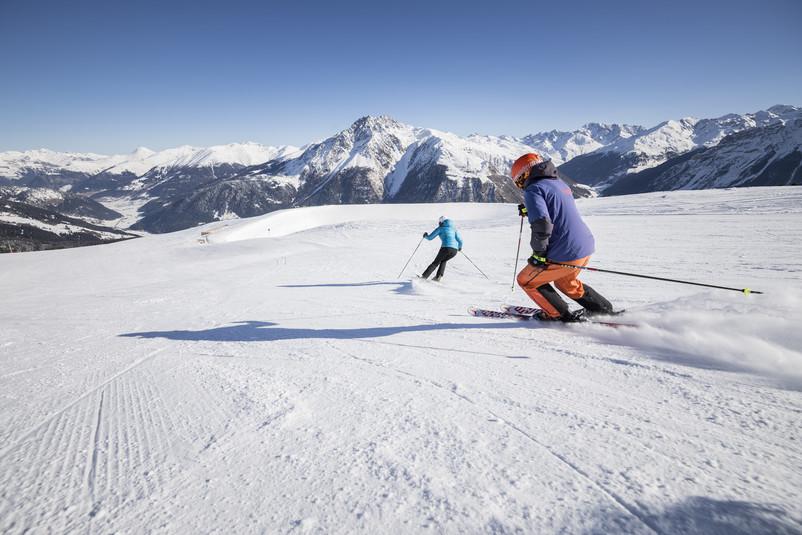 Sciare in Val Venosta