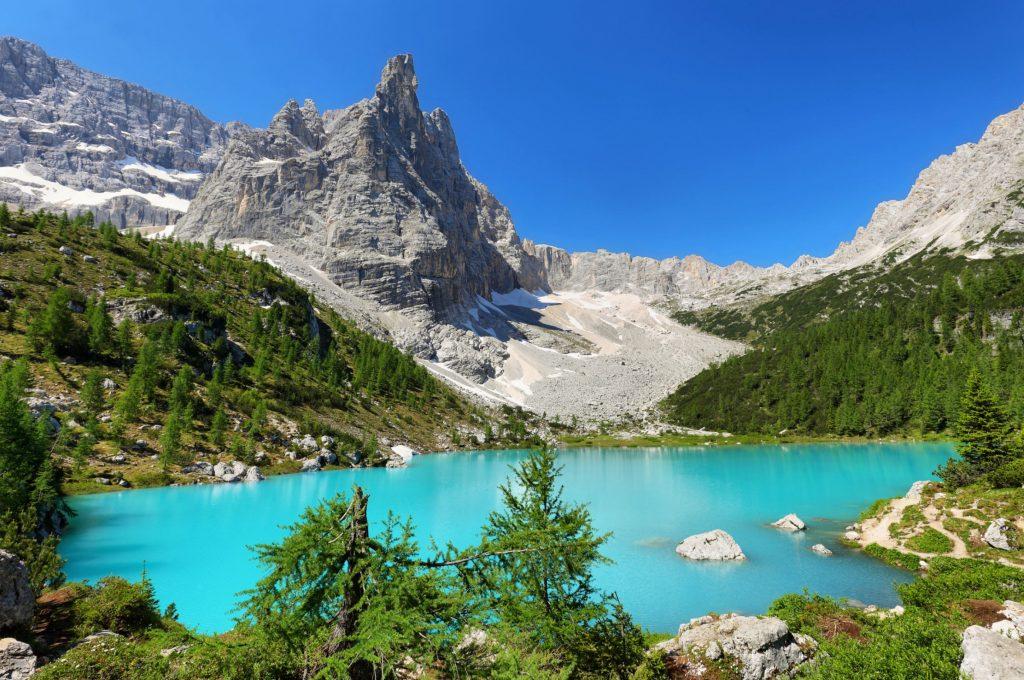 Lago di Sorapis e Dito di Dio