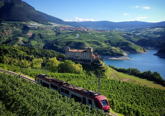 Castello di CLes in Trentino
